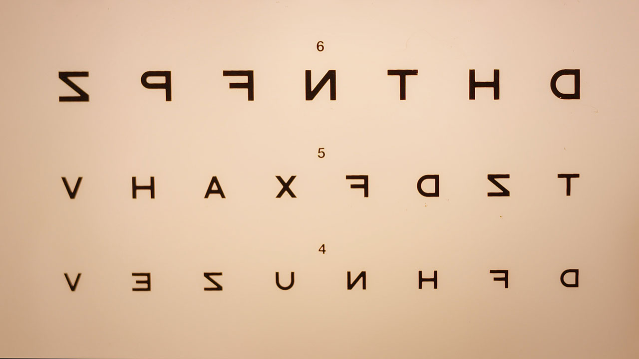 Eyechart NHS Hallamshire Hospital Sheffield